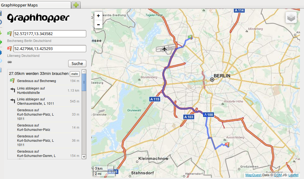 GraphHopper an Open Source and Flexible Alternative to Google Maps API